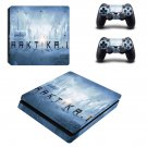 Arktika.1 ps4 slim skin decal for console and controllers