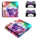 My Little Pony The Movie ps4 slim skin decal for console and controllers