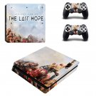 Serious Sam VR The Last Hope ps4 slim skin decal for console and controllers