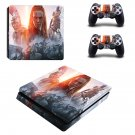 Total war arena boudicca ps4 slim skin decal for console and controllers