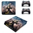 Warframe plains of eidolon ps4 slim skin decal for console and controllers