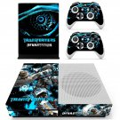 Transformers Devastation skin decal for Xbox one S console and controllers