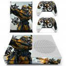 Transformers The Last Knight Bumblebee skin decal for Xbox one S console and controllers