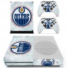 Edmonton Oilers skin decal for Xbox one S console and controllers