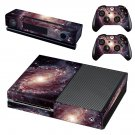 Open Spiral Galaxy skin decal for Xbox one console and controllers