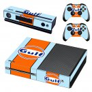 Gulf skin decal for Xbox one console and controllers