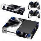 Scary cat With blue eyes skin decal for Xbox one console and controllers