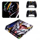 Gundam ps4 slim skin decal for console and controllers