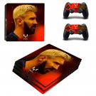 Lionel Messi ps4 pro skin decal for console and controllers