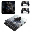 Middle-earth Shadow of Mordor ps4 pro skin decal for console and controllers