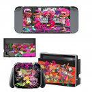 Splatoon 2 Nintendo switch console sticker skin