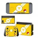 Pokemon Nintendo switch console sticker skin