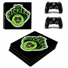 Mr Pickles ps4 pro skin decal for console and controllers