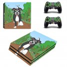 Good boy Mr pickles ps4 pro skin decal for console and controllers