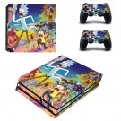 Mad Max Rick and Morty ps4 pro skin decal for console and controllers