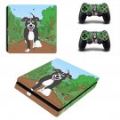 Good boy Mr pickles ps4 slim skin decal for console and controllers