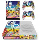 Mad Max Rick and Morty skin decal for Xbox one S console and controllers