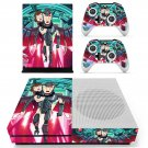 Rick and Morty skin decal for Xbox one S console and controllers