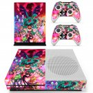 Rick and Morty fan art skin decal for Xbox one S console and controllers