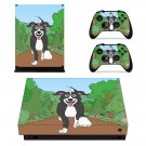 Good boy Mr pickles skin decal for Xbox one X console and controllers