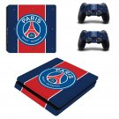 Paris Saint-Germain ps4 slim skin decal for console and controllers
