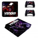 Venom ps4 slim skin decal for console and controllers