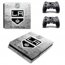 Los Angeles Kings ps4 slim skin decal for console and controllers