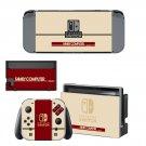 Family Computer Nintendo Nintendo switch console sticker skin