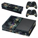 Dragon Xbox one  skin decal for console and controllers