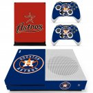 Houston Astros skin decal for Xbox one S console and controllers