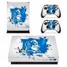 Duke blue devils Xbox one X  meme skin decal for console and controllers