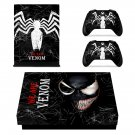 Venom Xbox one X skin decal for console and controllers