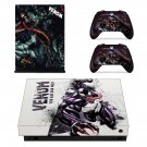 Venom skin decal for Xbox one X console and controllers