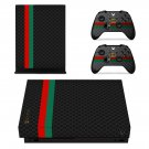 Floral Patten skin decal for Xbox one X console and controllers