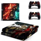 Devil May Cry decal for PS4 PlayStation 4 console and 2 controllers
