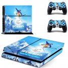 Pyeongchang 2018 decal for PS4 PlayStation 4 console and 2 controllers