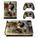 Kung Fu Panda 2 skin decal for Xbox one X console and controllers