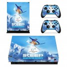 Pyeongchang 2018 Xbox one X skin decal for console and controllers