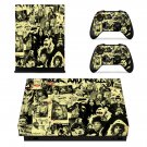 Rock and Roll skin decal for Xbox one X console and controllers