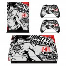 Thirsty and miserable skin decal for Xbox one X console and controllers