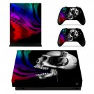Devil Skull skin decal for Xbox one X console and controllers