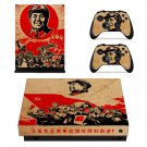 Sayings of mao skin decal for Xbox one X console and controllers