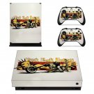 Punk Rock Jesus skin decal for Xbox one X console and controllers