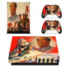 Mao Zedong skin decal for Xbox one X console and controllers