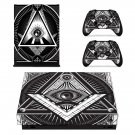 Novus Ordo Seclorum skin decal for Xbox one X console and controllers