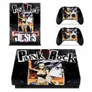 Punk Rock skin decal for Xbox one X console and controllers