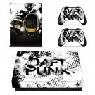 Daft Rock skin decal for Xbox one X console and controllers