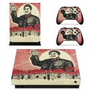 Chinese Revolution skin decal for Xbox one X console and controllers
