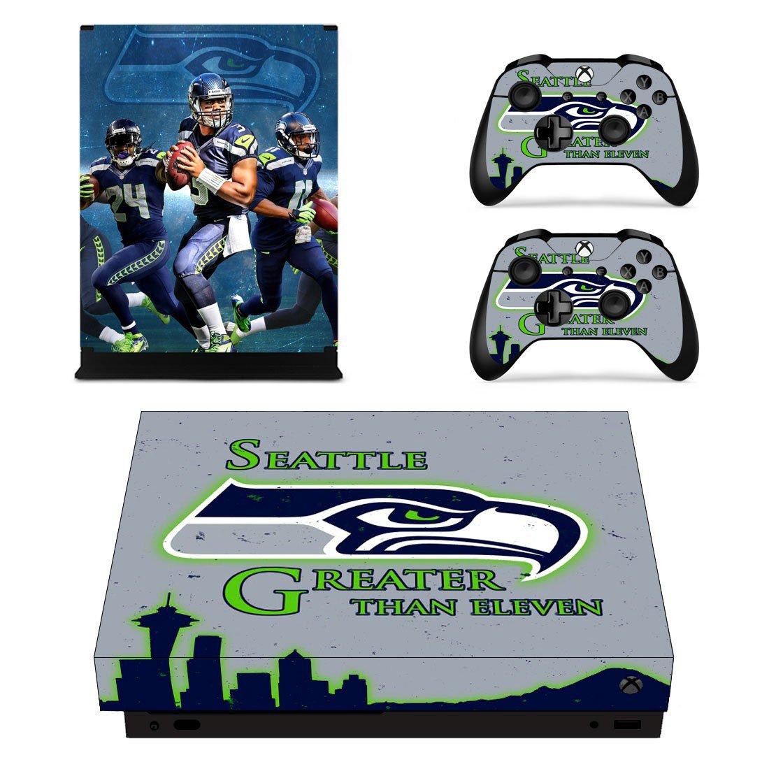 Seattle black hawk Xbox One X skin