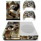 Kung Fu Panda 2 skin decal for Xbox one S console and controllers